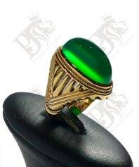 انشگتر-عقیق-سبز-یمنی