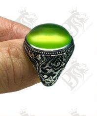 انگشتر-عقیق-سبز