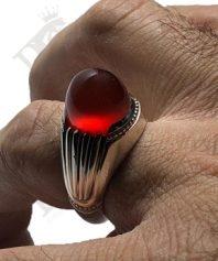 انگشتر-عقیق-سرخ