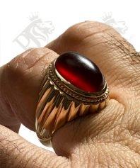 انگشتر-عقیق-سرخ-یمنی