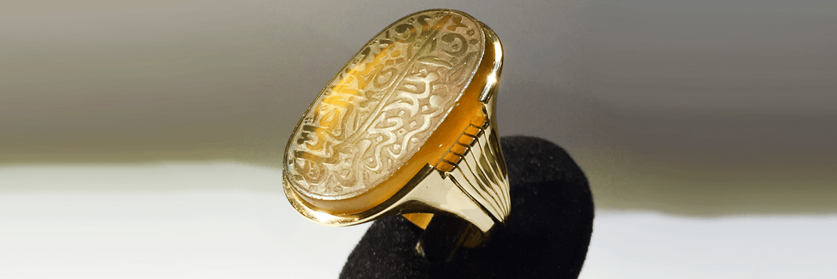 انگشتر دست ساز ایرانی